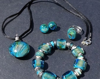 Ornament pendant beads murano CL.0924 (custom order)