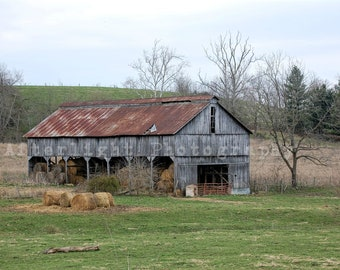 Country Photography, Country Barn Photo, Old Barn Photo, Country, Rustic,