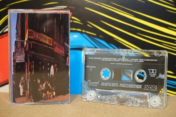 Paul's Boutique by Beastie Boys Vintage Cassette Tape