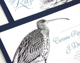 Bird Wedding Invitations, Seabird Wedding Invitations for your Beach Wedding
