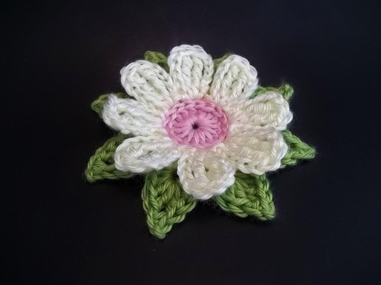Gerbera daisy dukes flower crochet pattern zoom izmirmasajfo
