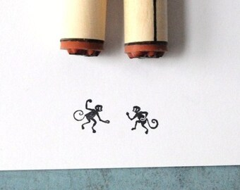 Mischievous Monkeys Stamp Set