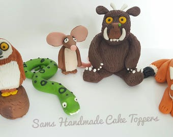 Gruffalo Set Cake Topper- Non edible/ Keepsake