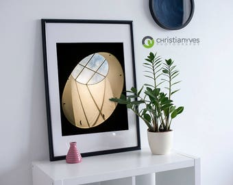 """Vancouver Canada Abstract Photography, """"A Window To Wonder"""" Home Decor Wall Art Fine Art Print Modern Photography"""