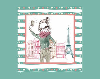 Set of 3 Paris Posters