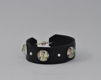 Child Size Cuff Bracelet - Tween Cuff - Polymer Clay Cuff - Small Cuff Bracelet - Tween Bracelet - Gift for Her - Polymer Clay Bracelet