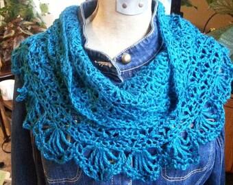 Open Shell Crochet Cowl - PDF Pattern