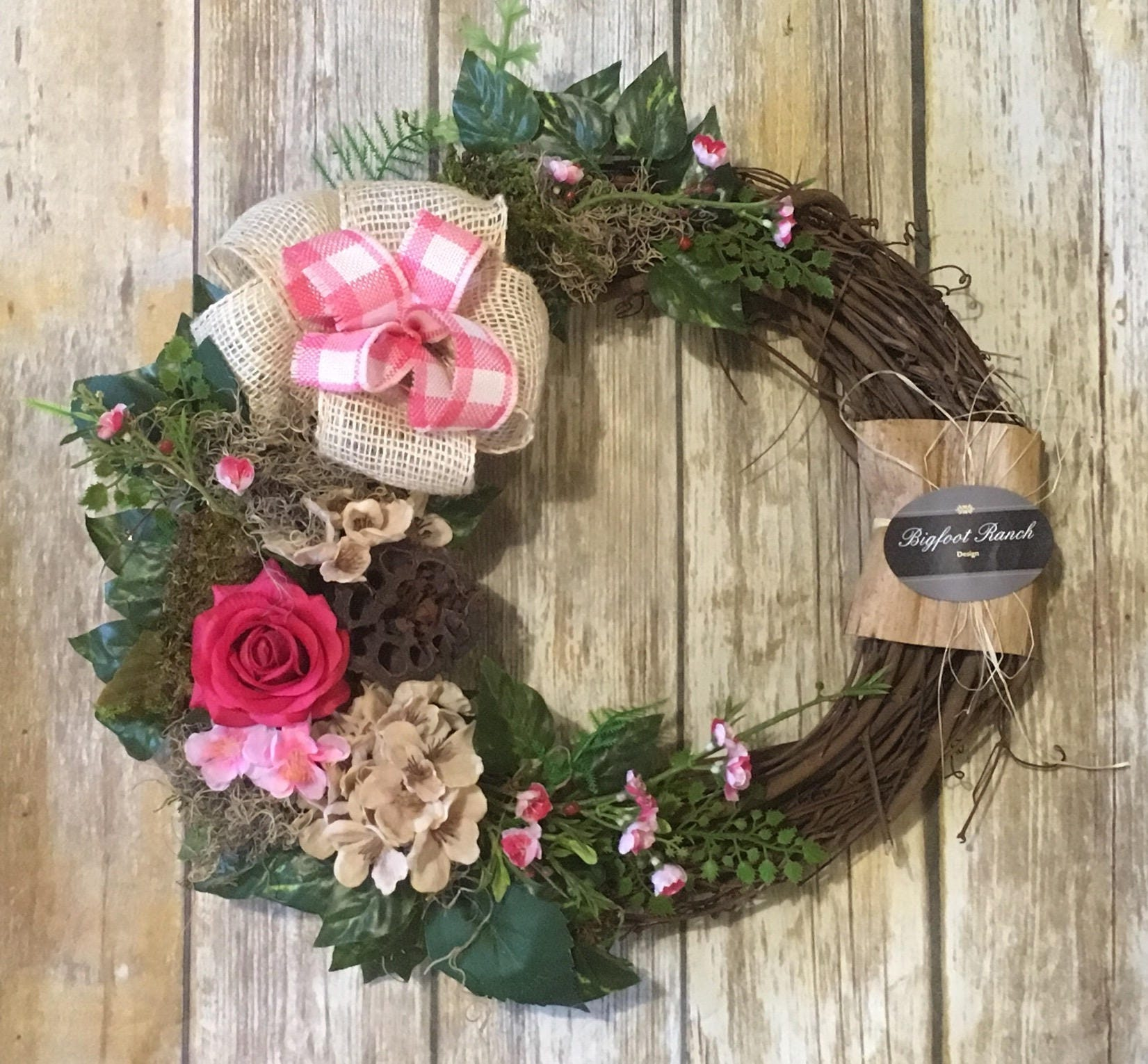 Front Door Wreath, Outdoor Wreath, Indoor Wreath, All Season Wreath, Spring  Wreath, Summer Wreath, Floral Wreath, Large Wreath, Wreat
