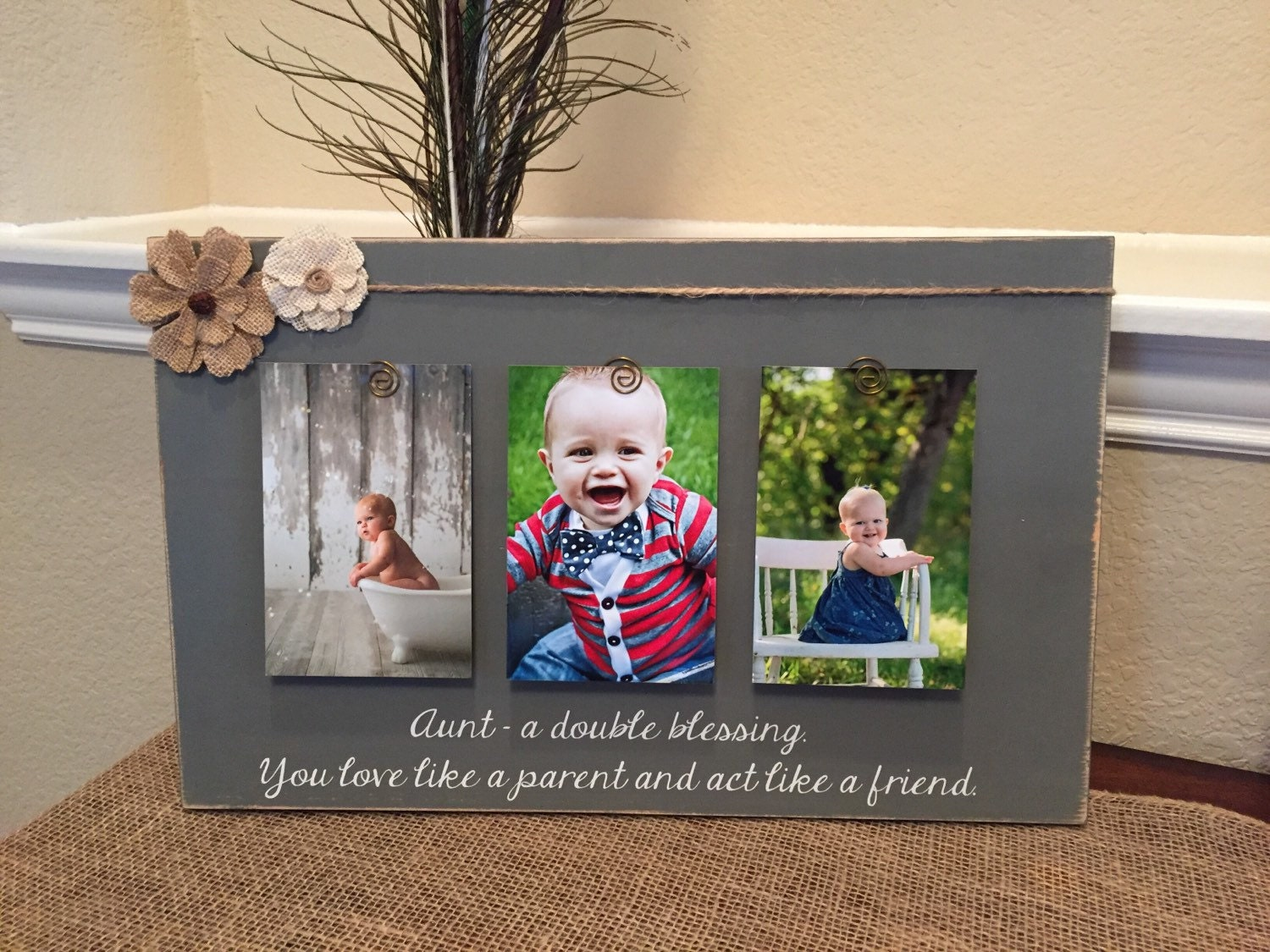 Mothers Day Gift For Aunt Sister Frame For Mothers Day