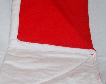 Red Lap/Diaper Change Pad