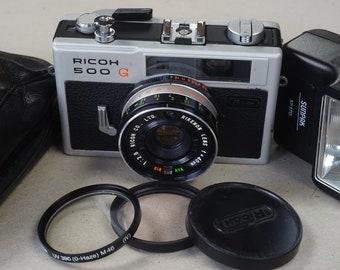 Ricoh 500G rangefinder, complete set, NEW lightseals! Works 100%!