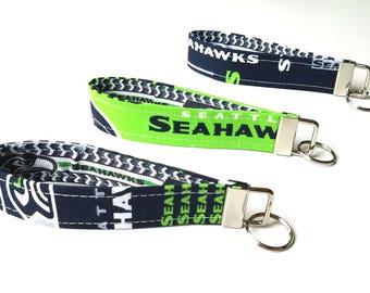Seattle Seahawks inspired Key Fob
