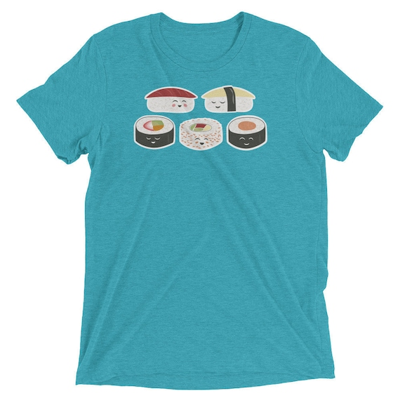 Happy Sushi - Short sleeve t-shirt