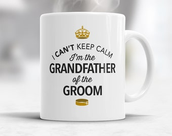 Grandfather of The Groom, Wedding Mugs, Grooms Grandfather, Grooms Grandfather Gift, Grandfather, Grandfather of The Groom,  Wedding Ideas