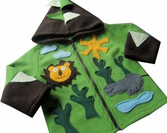 Tip Jacket Zoo, jacket, transition jacket