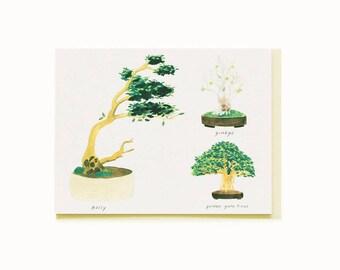 Bonsai 3 Card