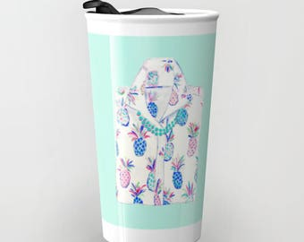 PINEAPPLE SHIRT Travel Mug