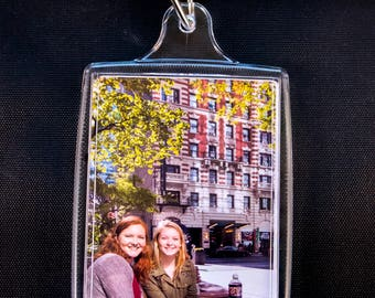 """Four Photo Keychains and Two Magnets 2.75"""" X 1.75"""""""