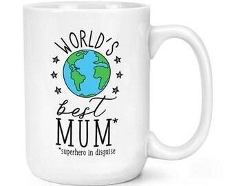 World's Best Mum 15oz Mighty Mug Cup