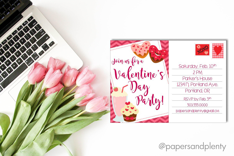 Valentine\'s Day Party Invitation Kid\'s