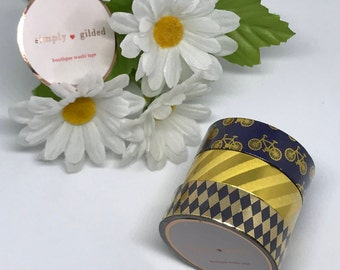 """Simply Gilded Washi, Pretty Pinks, Limited samples, 24"""" samples"""