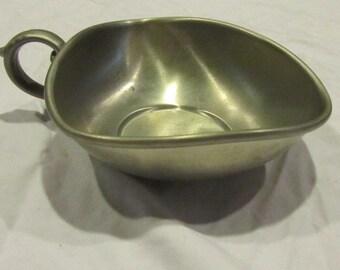 Priesner Pewter bowl