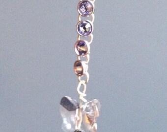 Swarovski Butterfly Earrings