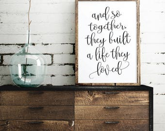 Living room quotes | Etsy