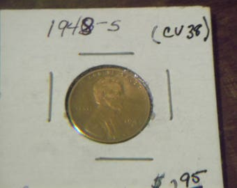 1948 S Lincoln Wheat Penny