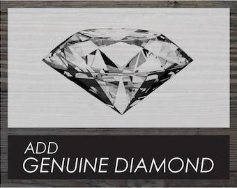 Add Genuine Diamond