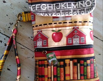 School Days Cell Phone Case/Wristlet/Teachers Gift