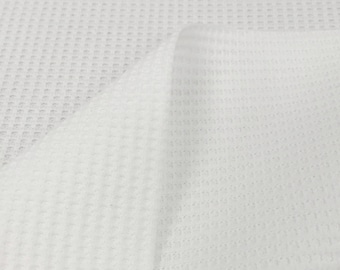 Thermal Fabric By the Yard (Wholesale Price Available By the Bolt) USA Made Premium Quality - 7503 Natural - 1 Yard