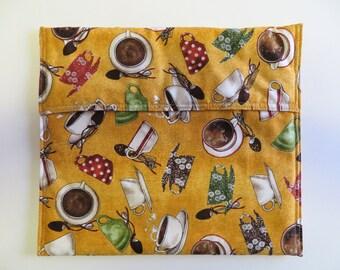 Baked Potato Bag -  Microwave Potato Bag - Bread Warmer Bag - Tortilla Warmer - Vegetable Bag - Corn On The Cob Bag -  Hostess Gift