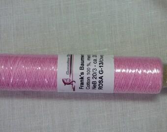 Frank's 20 cotton yarn / 3 collar Rosa 13 G