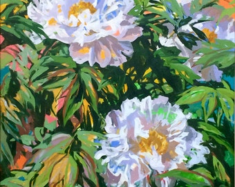 White Tree Peonies