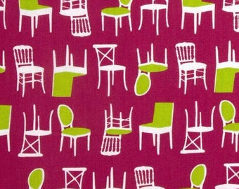 Patchwork fabric pink, Perfectly Perched Robert Kaufman