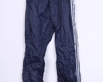 Adidas Womens 192 6'4'' Trousers Sweatpants Tracksuit Bottom Nylon Sport Waterproof Vintage