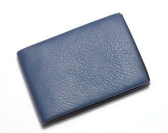 Slim Minimalist Wallet, Mens Wallet, Womens Wallet, Leather Wallet, RFID Wallet, Full Grain Leather Wallet - Original Nero Wallet
