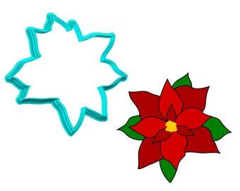 Poinsettia Cookie Cutter