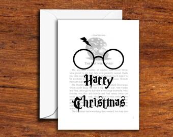 Holiday's - Christmas - Harry Christmas (with Glasses)