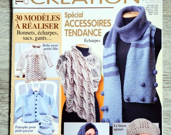 Design 4 - Special accessories knitting magazine
