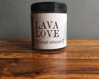 Lava Love Charcoal Facial Cleanser