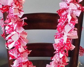 Valentine's Day Garland, Valentine Decoration, Engagement Party Decoration, Anniversary Decoration, Heart Garland, Wedding Bridal Shower