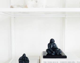 Faux Bronze Female Figures Decorative Accents Home Decor Statues