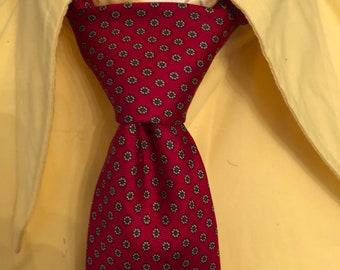 Vintage St Michael Silk Paisley Tie