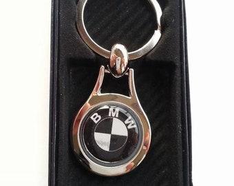 BMW Chrome Key Ring Fob Keyring Gift Idea
