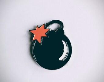BOMB! Enamel Pin
