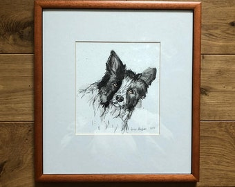 Collie | Pen and Watercolour | 2013