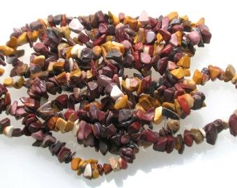 Yolk Stone chip beads 4 to 12mm, Gemstone Chip Beads