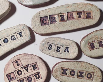 pottery magnets